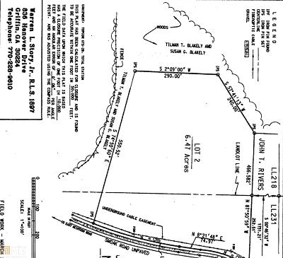 Griffin Residential Lots & Land New: 601 Smoak Rd