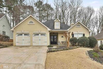Douglasville Single Family Home Under Contract: 3491 Heatherwood Ct