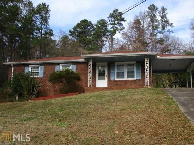 Kennesaw Single Family Home Under Contract: 607 Rail Splitter Dr