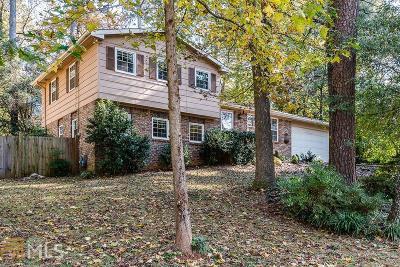 Tucker Single Family Home Under Contract: 2843 Goodfellows Rd