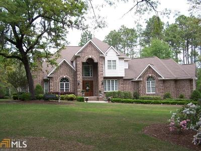 Statesboro Single Family Home For Sale: 107 Plantation Trl