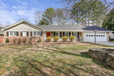 Tucker Single Family Home Under Contract: 3972 Saint Marks Ct
