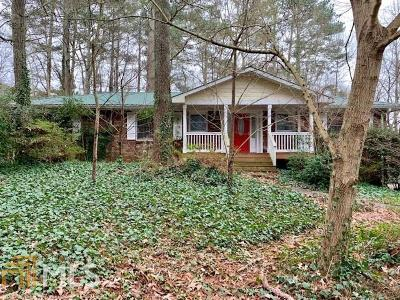 Roswell Single Family Home Under Contract: 160 Thompson Pl