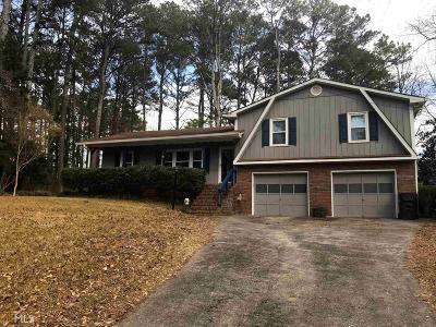 Acworth Single Family Home Under Contract: 2450 Wilma Gunter Cir