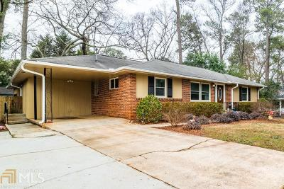 Decatur Single Family Home Under Contract: 2711 Mount Olive Dr