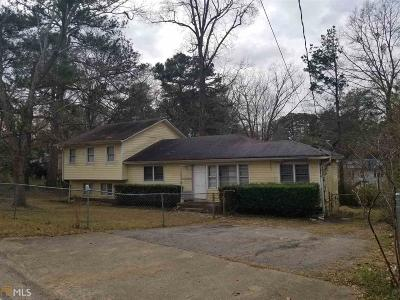 Clayton County Single Family Home New: 4657 City View Dr