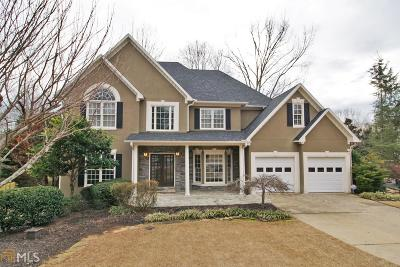 Roswell Single Family Home New: 455 Laurian Vw