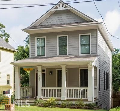 Grant Park Single Family Home Under Contract: 658 Woodward Ave