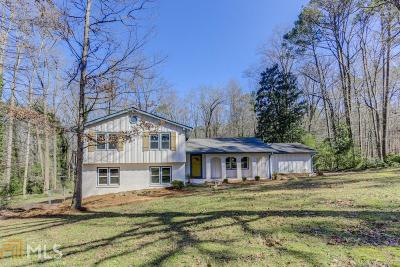 Stone Mountain Single Family Home Under Contract: 2340 Oxbow Cir