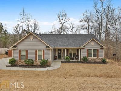Newnan Single Family Home Under Contract: 84 E Coggins Rd