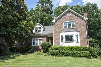 Snellville Single Family Home Under Contract: 1600 Hickory Lake Dr