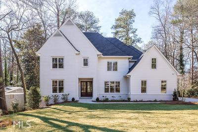 Roswell, Sandy Springs Single Family Home For Sale: 6368 Vernon Woods Dr