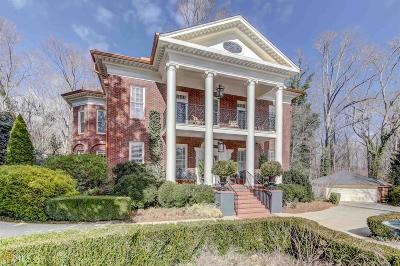 Roswell, Sandy Springs Single Family Home For Sale: 1530 Northwold Dr