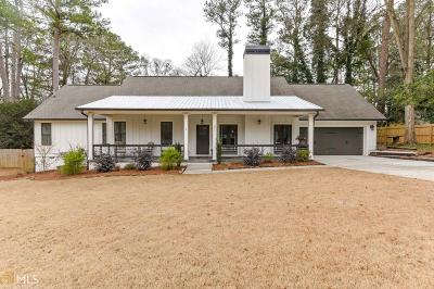 Decatur Single Family Home Under Contract: 651 Scott Cir