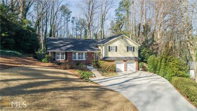 Sandy Springs Single Family Home Under Contract: 5660 Colton Dr