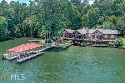 Butts County, Jasper County, Newton County Single Family Home Under Contract: 151 Lake Pines Cir