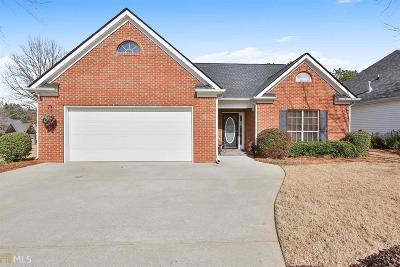 Newnan Single Family Home Under Contract: 2 Saratoga Pl