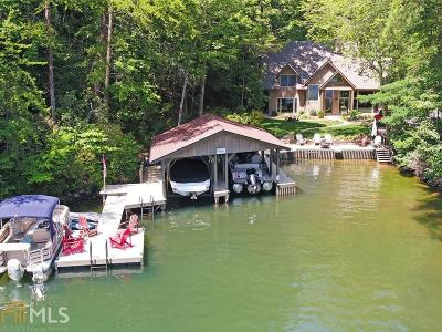 Clayton, Clarkesville, Tiger Single Family Home Under Contract: 3250 Moccasin Creek Rd