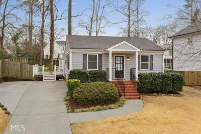 Chamblee Single Family Home Under Contract: 1738 Hickory Rd