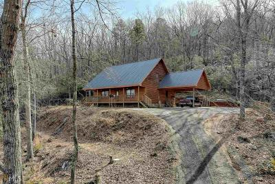 Habersham County Single Family Home Under Contract: 1056 Sweetwater Dr