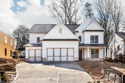Brookhaven Single Family Home Under Contract: 1857 Canmont Dr