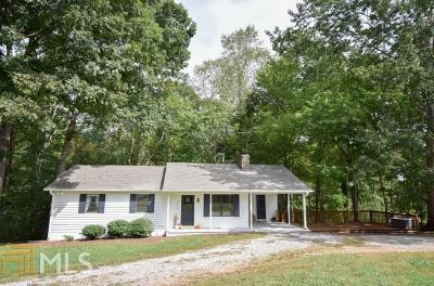 Dawsonville Single Family Home Under Contract: 3110 Sweetwater Juno