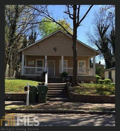 Atlanta Multi Family Home New: 942 SW Beckwith St