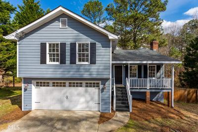 Sugar Hill Single Family Home Under Contract: 5555 Austin Garner Rd