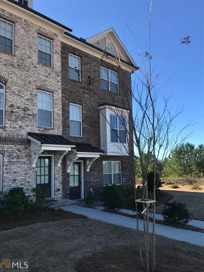 Suwanee Condo/Townhouse For Sale: 3943 Faircrest Walk