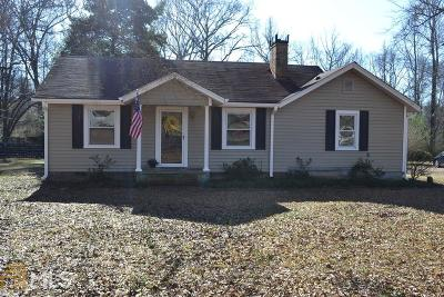 Oxford Single Family Home Under Contract: 552 Mt Tabor Rd