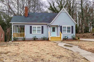 Atlanta Single Family Home New: 627 S Elizabeth