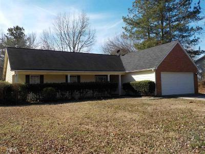 Clayton County Single Family Home Under Contract: 571 Sunnyhill Dr