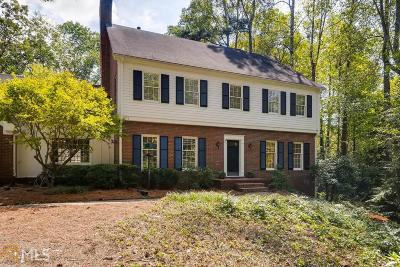 Roswell, Sandy Springs Single Family Home For Sale: 1290 Heards Ferry Rd