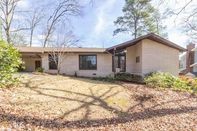 Decatur Single Family Home Under Contract: 2995 Country Squire Ln