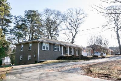 Lilburn Single Family Home For Sale: 174 Killian Hill Rd