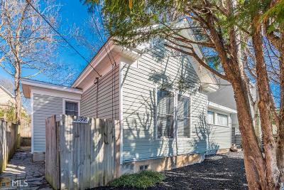 Reynoldstown Single Family Home For Sale: 824 Fulton Ter