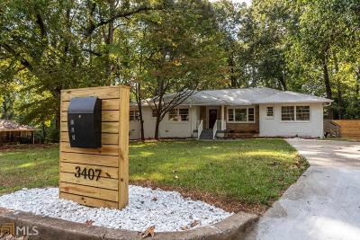 College Park Single Family Home Under Contract: 3407 Parkview