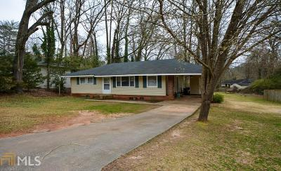 Atlanta Single Family Home New: 1193 Hillwood Ct