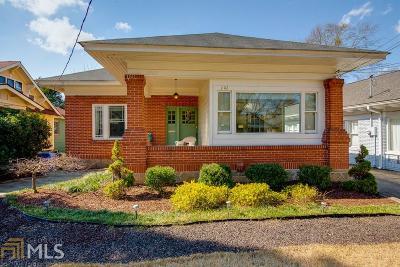 Virginia Highland Single Family Home Under Contract: 1202 Monroe Dr