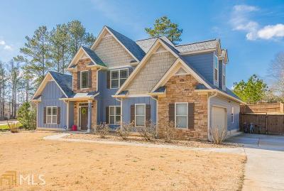 Douglasville Single Family Home New: 142 Bridgemill Dr