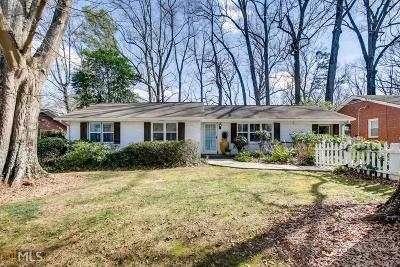 Druid Hills Single Family Home New: 1271 Briarcliff