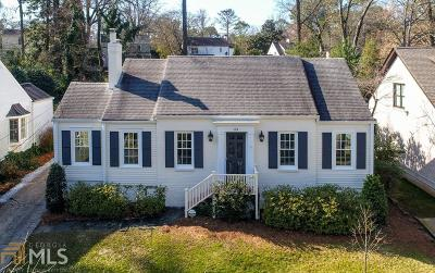 Collier Hills Single Family Home Under Contract: 384 Redland Rd
