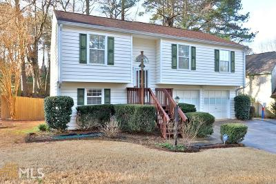 Acworth Single Family Home Under Contract: 1801 May Glen Dr