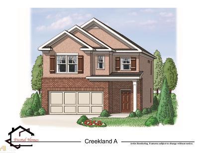 Stockbridge Single Family Home New: 597 Sprayberry Dr #79