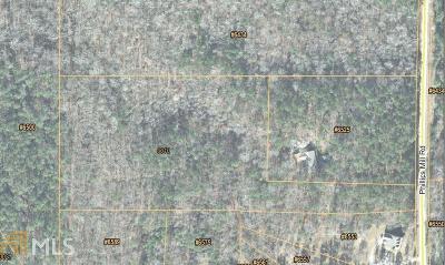 Douglasville Residential Lots & Land New: Phillips Mill Rd