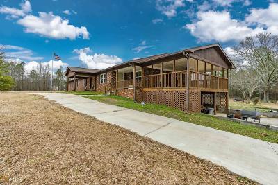 Buckhead, Eatonton, Milledgeville Single Family Home For Sale: 337 Browns Chapel Rd