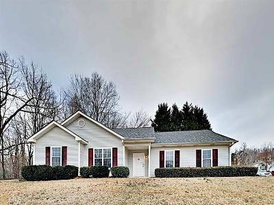 Flowery Branch Single Family Home Under Contract: 3916 Deaton Rd