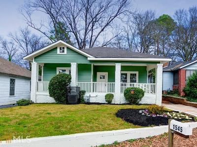 West End Single Family Home For Sale: 1545 Montreat Pl