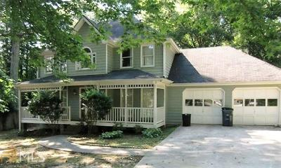 Snellville Single Family Home New: 3139 Fairview Dr