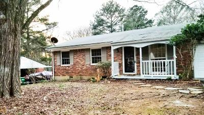Conley Single Family Home For Sale: 4583 Ryan Rd